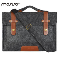 Mosiso Felt 11 12 13 14 15 Inches Sleeve Carrying Case Cover Laptop Bag For Ma