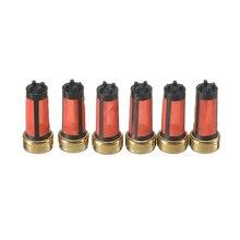 Высокое качество 20 штук 14*6*3 мм Автомобильный бензиновый топливный инжектор микро фильтр для Mitsubishi Auto Sapre Запчасти Аксессуары MD619962