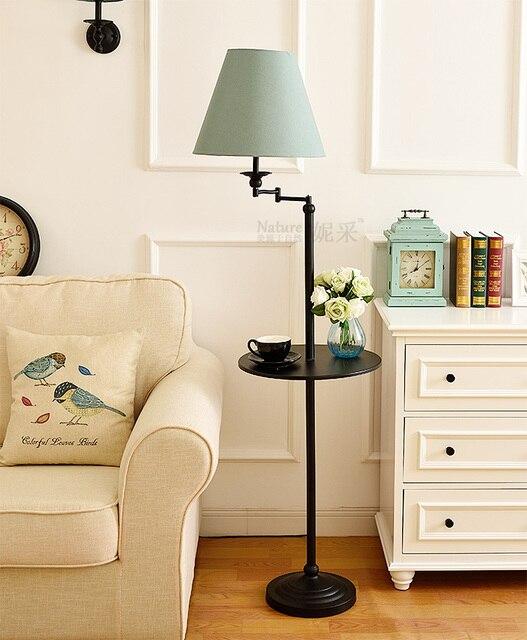 Bodenleuchten Post Modernes Design Loft Metall Stand Stehleuchte Für Wohnzimmer  Schlafzimmer Büro E27 Lampe Halter