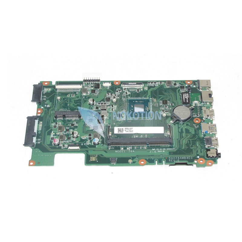 NOKOTION NEW NBMRU11002 NBMRU110026 For acer aspire ES1-411 Laptop motherboard DA0Z8AMB4E0 Mainboard nokotion z5wae la b232p for acer aspire e5 521 laptop motherboard nbmlf11005 nb mlf11 005 ddr3
