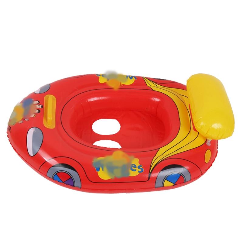 Pour bébé nager bateau jouets piscines eau jouets amusants bébé enfant flotte pour 2-8 ans enfants siège été natation flotteurs jouets