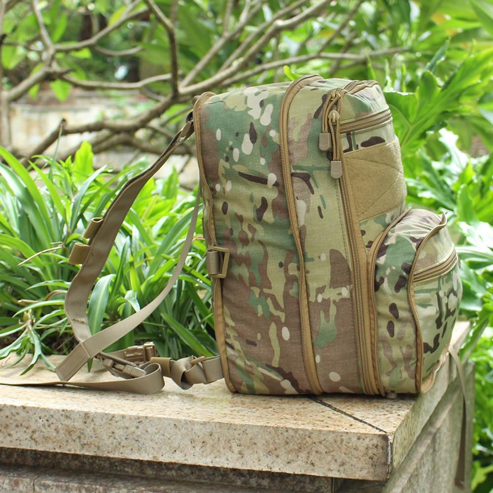 Flatpack D3 sac à dos tactique sac d'hydratation poche Molle Airsoft équipement militaire gilet polyvalent assaut sac de voyage souple - 6