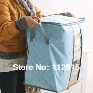 Free shipping 3 colours Storage Box -Best Fabric Storage Portable Folding Multifunctional Storage Organizer Bag