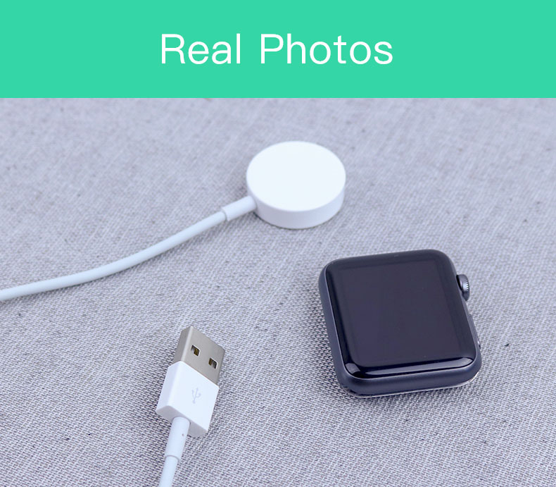 SIKAI Original Wireless Charger for Apple Watch Charger for i-Watch Series 1 2 3 38/42mm 1meter for Apple Watch 14