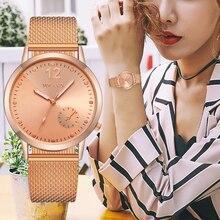 2019 New Women Quartz Watch Luxury Mesh Strap Analog Fashion Wrist Watches Female Clock YOLAKO Brand Relogio Feminino