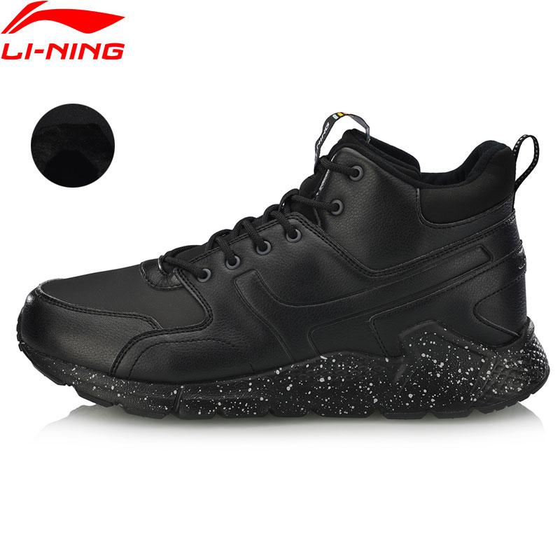 Li-ning hommes LN volcan chaussures de marche polaire chaude Durable doublure antidérapante confort Sport chaussures baskets d'hiver AGCN117 YXB255