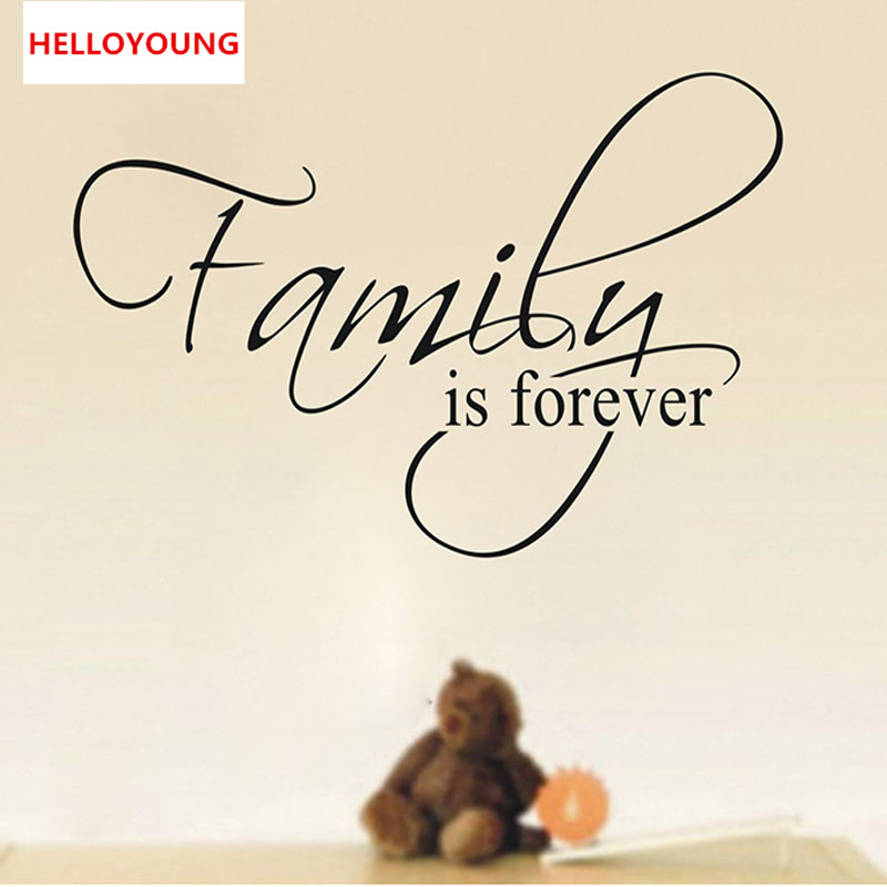 Aliexpress Buy Qt 0184 Wall Quotes Family Wall