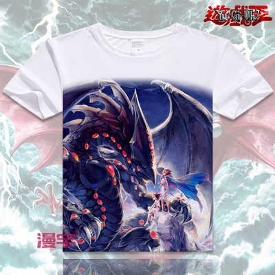 Verano Yu Gi Oh camiseta Japón Anime Yugi Mutou impresión Cosplay manga corta Camiseta seto Kaiba hombres mujeres camisetas Top envío gratis XD-059