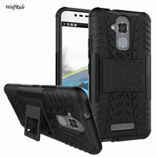 Cover For Asus Zenfone 3 Max ZC520TL Case Dual Layer Plastic Anti-Knock Cover Coque Holder Phone Case For Asus Zenfone 3 Max <]
