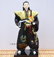 Decoration Arts crafts girl gifts get married Samurai Japanese humanoid Doll Restaurant supplies jewelry ornaments Hom