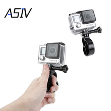 Finger Ring Hand Grip Selfie Stick Compact Handheld Holder Mount with Thumb Screw for GoPro Hero 1/ 2/ 3/ 3+/ 4/ 5 Cameras