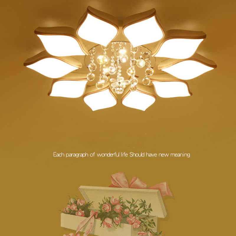 Led Ceiling Lamp Living Room Round