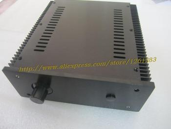 New 2409 black front full Aluminum Preamplifier enclosure amplifier chassis