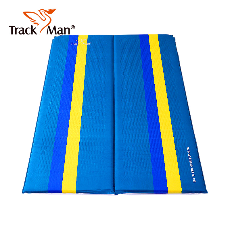 Trackman camping mat 2 person Sleeping Mat Thicker hiking travel Mattress outdoor pad Automatic inflatable with PillowTrackman camping mat 2 person Sleeping Mat Thicker hiking travel Mattress outdoor pad Automatic inflatable with Pillow