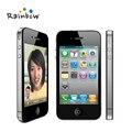 Original iPhone 4 iOS 16G O 32 GB ROM 3.5 pulgadas Cámara de 5MP WIFI GPS Del Teléfono Celular Del envío gratis