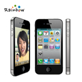 Original iPhone 4 iOS 16G Or 32GB ROM 3.5 inches 5MP Camera WIFI GPS Cell Phone free shipping