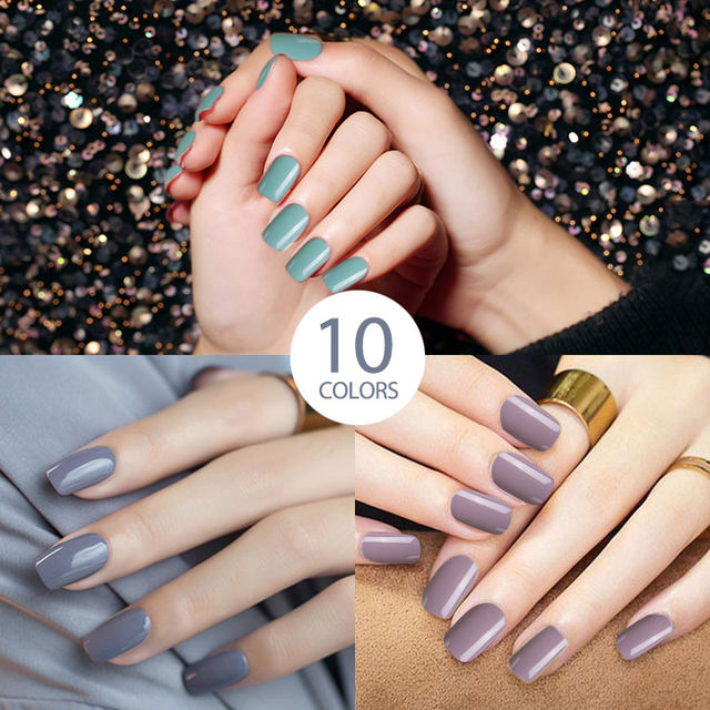 Online Shop Modelones Nude Color UV Nail Gel Lacquer Art French