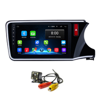 Android 8.1 Car GPS Navigation Radio Multimedia Player For 2014 2015 2016 2017 HONDA CITY RHD with Bluetooth wifi