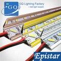 20 pçs/lote 7020 Bar U / V rígido de lâmpada de luz LED tira rígida DC 12 V ( em vez de 5630 tubo rígido )