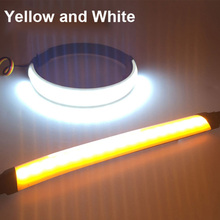 Motorcycle LED 45mm-70mm Fork Turn Signal Strip Light Amber Lamp For Harley Victory High Quality Flasher Ring motorcycle led