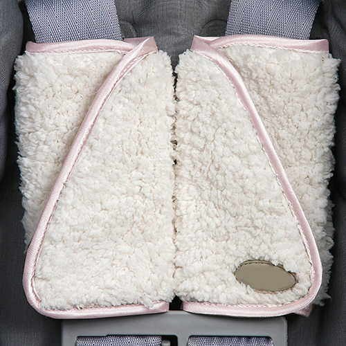 Newest Hot 1 Pair Baby Padded Car Seat Belt Covers Pads Highchair Stroller Shoulder Protector