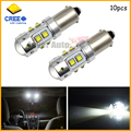 10pcs High Power 50W Extreme Bright 10-CRE E XB-D BA9S 641 BA9 LED Bulbs for Interior Map Dome Light Backup Parking Lights,etc