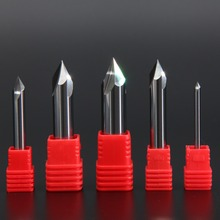 1mm 2mm 3mm 4mm 5mm 6mm 8mm 10mm 12mm Spot Drill Bit Tungsten Carbide Point Degree 60 for Machine Hole Drill Chamfering Tool