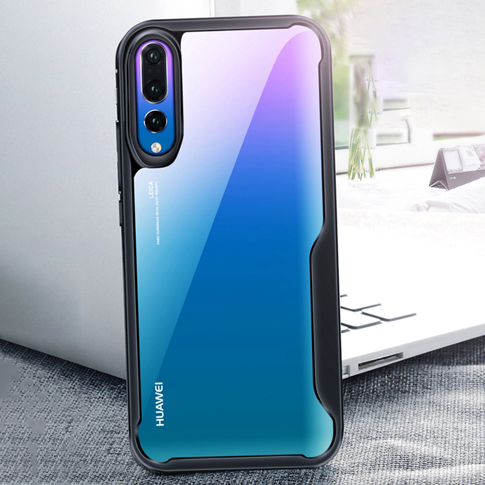 Image 4 - Heyytle Shockproof Armor Case For Huawei P20 P30 Pro Mate 20 Lite Nova 4 3i Transparent Cover For Honor 10 8X Max Soft TPU Coque-in Fitted Cases from Cellphones & Telecommunications