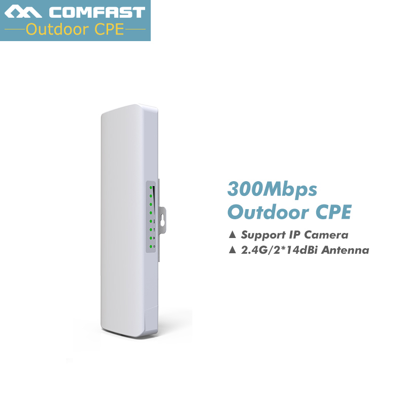 COMFAST CF E314N 300Mbps 2 4Ghz Outdoor Mini Wireless AP Bridge WIFI CPE Access Point Dual