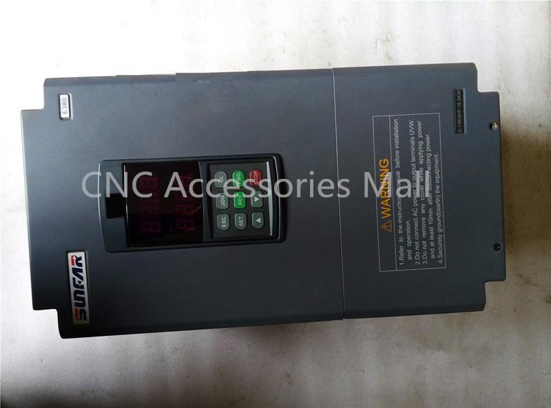 E380 E380-4T0150G 15KW AC380V 0-600 hz VFD Inversor CNC Inversor De Freqüência