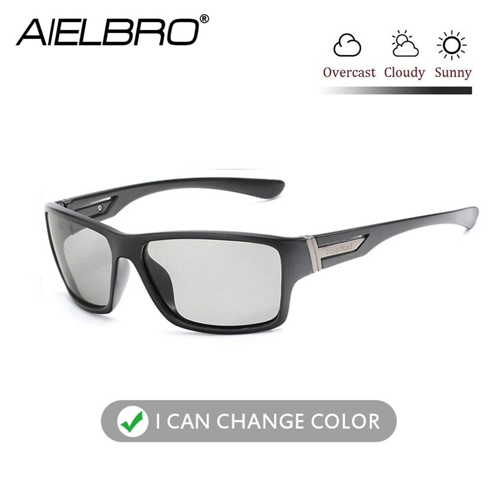 Photochromic Sunglasses Men Women Polarized Sun Glasses Outdoors Sports Square Driving Accessories Goggle UV400 Gafas De Sol