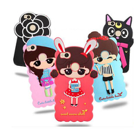 8 Types For Xiaomi Redmi 4X Case Lovely Cute 3D Cartoon Soft Silicon Cover For Xiaomi