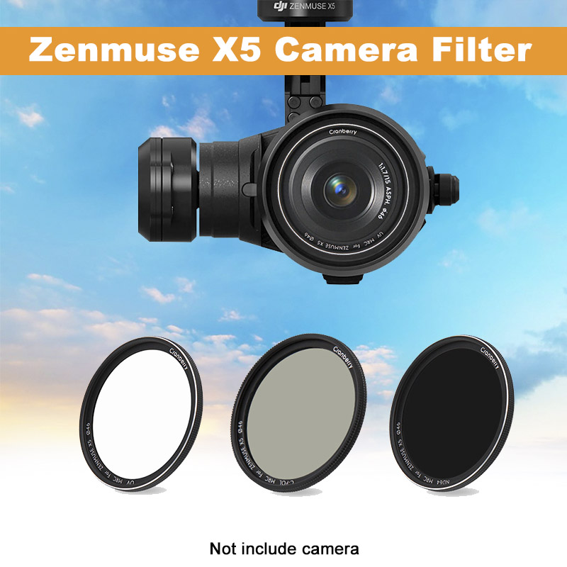 Camera  Lens Filter For Zenmuse X5 Kit ND8 ND16 ND64  CPL UV For DJI Inspire 2 Zenmuse X5S X5R Drone Camera Filter