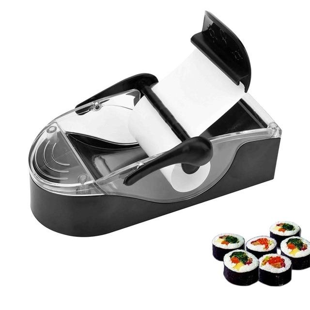 Sushi Maker Stampi Cucina Giapponese Riso Roller di Rolling Utensili ...