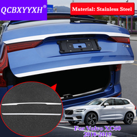Car Styling Stainless Steel Sequins For Volvo XC60 2018 Exterior Protective Pad External Decoration Tail Door Trim Sequins