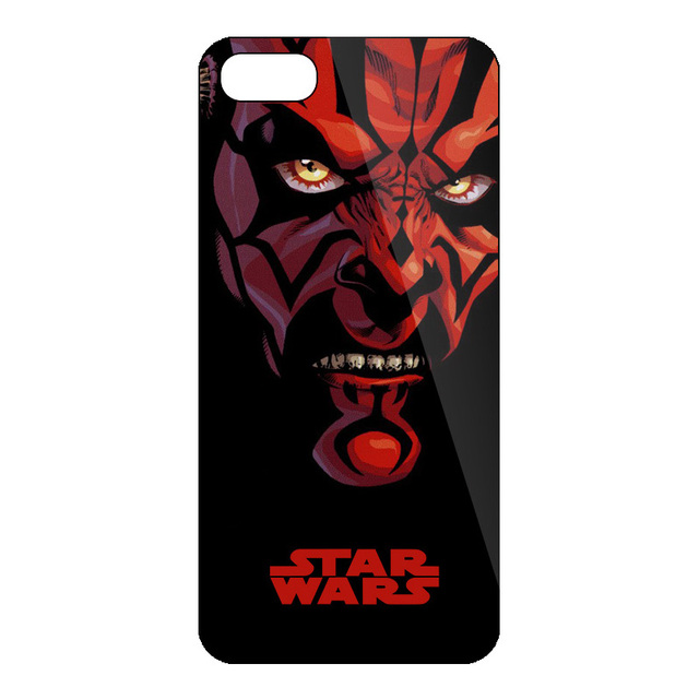 Movie Starwars Hard Black Case For iPhone 5 5s 6 6S