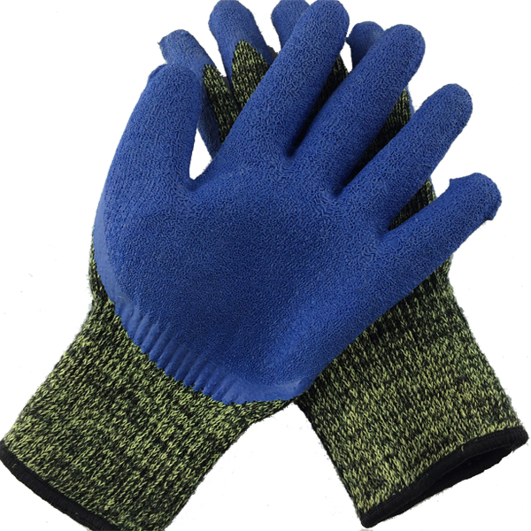 Camouflage Working glove protect hands from cut working partners Soak glue gloves partners cd
