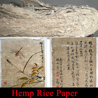 Top Archaistic hemp fiber Rice Paper for Painting Calligraphy Artist xuan paper Mao bian zhi