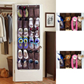 Door Hanging Extra Large 24 Grids Organiser For Shoe,Tools,Sundries multifunctional storage bag 48*168cm