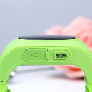 Image 4 - אנטי איבד Q50 ילדים חכם שעון OLED ילד GPS Tracker SOS צג מיצוב טלפון GPS תינוק שעון IOS אנדרואיד pk q12 s9 שעון