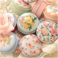 Small Tin Boxes Multi Styles Portable Ointment Box Pill Boxes Tinplate Lipstick Case Storage Small Handmade Series(China)