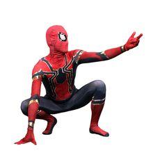 Avengers Spiderman Homecoming Cosplay Costume Zentai Iron Spider Man Kids Adult Superhero Bodysuit Jumpsuits