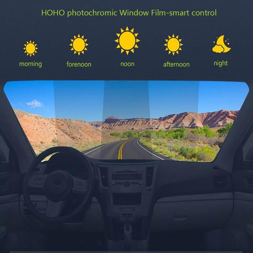 HOHOFILM 152cm x 50cm 30% 75% VLT Fenster Film Auto Auto Haus Smart Fenster Tönung Dual Magnetron sputtern Smart Photochrome-in Dekor-Folien aus Heim und Garten bei  Gruppe 1