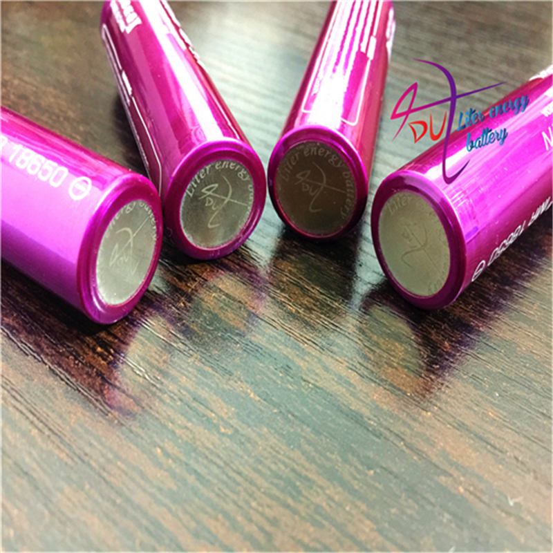 2pcs Liter energy battery Electronic Cigarette battery 18650 3000mah 40a Li-Mn battery and battery case for vtwo RX2/3 <font><b>RX200s</b></font> image