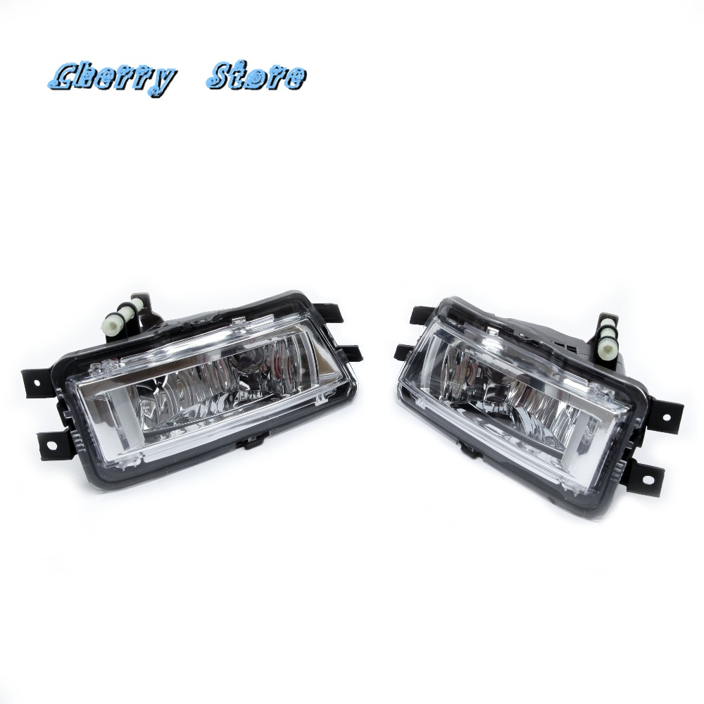 NEW 561 941 700 RH & LH Front Bumper Clean Fog Lights Fog Lamp Bulbs Assembly Kit For VW Passat NMS B7 2012-2015 561941699B 1 pc lh with bulb front bumper fog lamp for new ford focus 2015 on