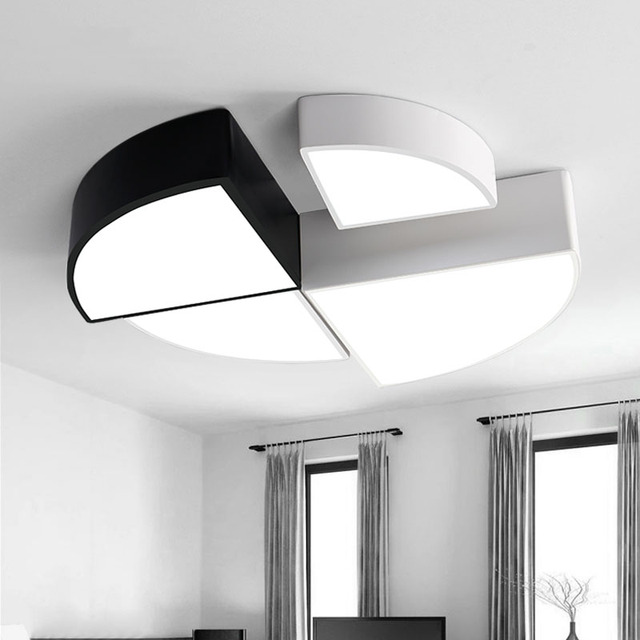 Aliexpress.com : Buy Geometry Creative Ceiling Light Lamparas De ...