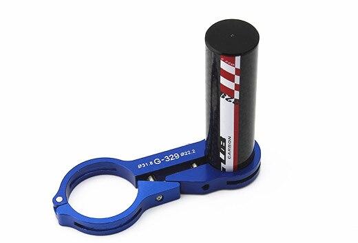 GUB 329 Tyrell Storck Alloy Handlebar extension mount carbon fiber extender holder for light extended 31.8MM