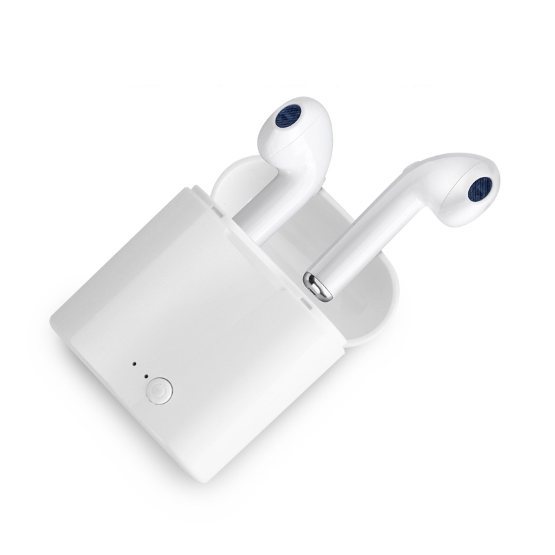 WEDIO i7s TWS Wireless Bluetooth Earphone With Charging Box Mini Stereo Earbud Headset Easy To Carry For Mobile Phone