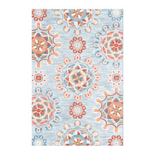 INS Nordic Retro Ethnic Mandala Round Mat Matting Printed Carpet For Livingroom Kids Room Large Area Rug