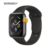 IWO 8 Plus 44mm Bluetooth Smart Watch Series 4 SmartWatch for iOS Android Pedometer Message synchronization IWO 5 6 7 Upgrade